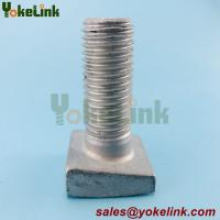 """Best 3/4"""" x 2"""" ASTM A153 Hot Dip Galvanized Askew Head Bolts For Masonry Needs wholesale"""