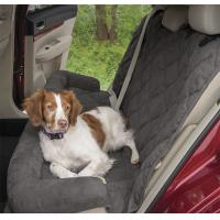 Best Large Waterproof Memory Foam Dog Bed For Car Seat Protector Grey Color With 2 Sizes wholesale