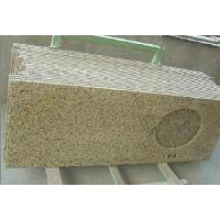 Best Golden Yellow Granite Stone Veneer Countertop wholesale