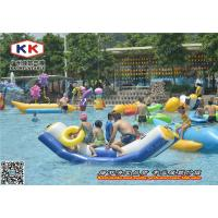 Best Outdoor Inflatable Water Game Water Slide Obstacle Course Environmental wholesale