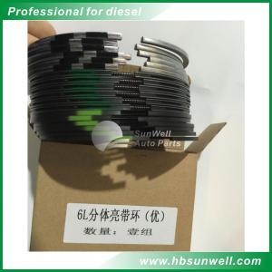 Best Dongfeng Cummins 6L QSL9 Diesel Engine Overhaul Kits / Piston Ring set wholesale