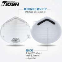 China Large Stock Face Mask Respirator Mask N95 Disposable Dust Face Mask Ffp3 N95 on sale