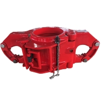 China API 8A/8C SLX100 Side Door Drilling Elevators For Handling Drill Pipe, Casing And Tubing Pipes on sale
