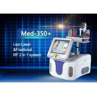 Best Lipo Laser Handpiece and Fractional RF Treatment Handpiece RF Power 50w Rated Power 200w wholesale
