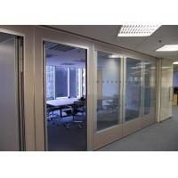 Best Office Glass Partition Walls , Sliding Glass Partitions For Exhibition Centers wholesale