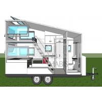 Best Fireproof Material Prefab Mobile Homes , Premade Mobile Homes 50 Years Lifetime wholesale