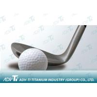 China Wrought Titanium Golf Head Metal Forgings , High Performance Titanium Driver Head wholesale