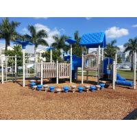 Best Different Color Residential Playground Equipment Unique Outdoor Play Equipment For Schools wholesale