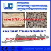 Best Best Automatic Contex Soya Nugget Food Prcessing Equipment made in China wholesale