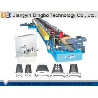 China Galvanized Steel Roller Shutter Spring Door Roll Forming Machine 5.5 KW Driving Motor Siemens PLC Control System on sale