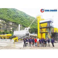 Hot Mix Bitumen Asphalt Mixing Plant Large Scale Automatic For Construction