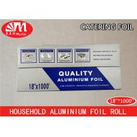 Best Heavy Duty Catering Tin Foil , Restaurant Aluminum Foil Food Grade Good Packaging wholesale