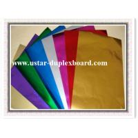 China Colorful aluminum foil paper Canada on sale