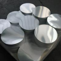 Buy cheap Smooth Bright Surface Aluminum Disk Blanks / Round Aluminum Blanks ISO9001 from wholesalers