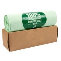 Best OEM Biodegradable Compost Bags On Roll Supermarket Food Waste Caddy Liner wholesale