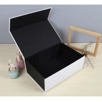 Best Black Luxury Paper Gift Box Custom Printed Stationery Boxes wholesale