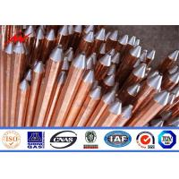 China Drawing Copper Clad Ground Rods Copper Ground Rod Nylon Strip Weave Strip Iron Pallet on sale