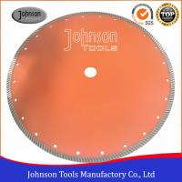 Best 14 Sintered Diamond Turbo Saw Blade for Wet Cutting Hard Fire Bricks with Hot Press wholesale