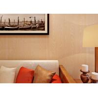 China Wood Grain Nature 3D Effect Wall Coverings Contemporary Bedroom Wallpaper on sale