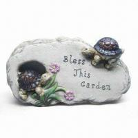 Best Ceramic Crafts, Cement Garden Plate, Made of Cement, Measures 21.5 x 3.5 x 12cm wholesale