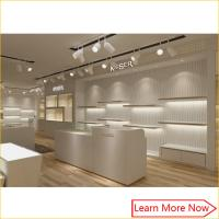 Best Quality assured shoe display shelves and racks with lighting decorated wholesale