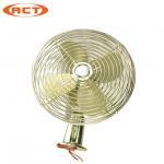 Excavator Cab 8 Inch Or 12 Inch Cooling Fan Universal Electric 24V / 12V