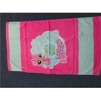 China Cotton Customized Reactive Printed Bath Towels Cu-30 on sale
