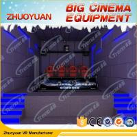 Best Shooting Game Simulator 7D Movie Theater 12 Seater With Electric / Back Poking wholesale