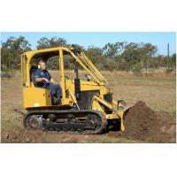 Buy cheap 35hp Mini Crawler Tractor of  Farm Exploration Machine with Backhoe/Slade/Auger/4-in-1 bucket Manual Clutch product