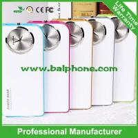 New power bank with classic clock