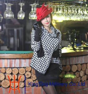China Stylish Wedding Winter Wool Hats , wool felt top hat for women on sale