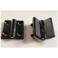 Best Zinc Alloy Cabinet Hinges 40*40 50*50 60*60 black powder coated Door Hinge with 180 degree wholesale
