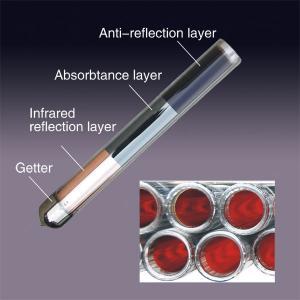 3 layer coating solar vacuum tube