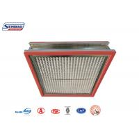 Best High Temperature Resistance Thermostability High Temp Hepa Filter for Pharmaceutical wholesale