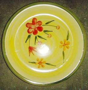 China 10.5 Stoneware Hand-painted Plates w/ Unique Design,SA8000/SMETA Sedex/BRC/ISO/BSCI Audit on sale