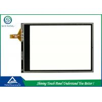 Best Transparent Resistive Touch Panel 4 Wire For GPS / Navigation / Rearview Mirror Camera wholesale