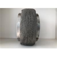 China Knitted Wire Mesh Pad , Stainless Steel Mesh Pad Gas Liquid Separation Air Filter on sale
