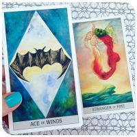 Best 128gsm Customized Printing Magic Tarot And Oracle Cards wholesale