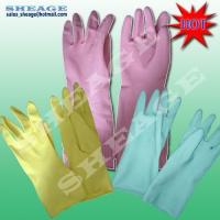 Best Natural Rubber Latex Gloves, Disposable Latex Gloves, Latex Gloves, Household Gloves, SFD-B203 wholesale