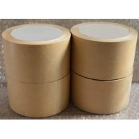 Cheap Self Adhesive White Kraft Paper Tape For Splicing Bottom Release Liner for sale