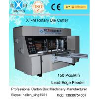 Double Roller Carton Making Machine With High Precision Of Die Cutting And Molding