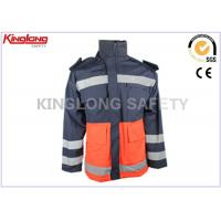China Embroidered Waterproof Safety Hi Vis Winter Workwear For Painter Worker on sale