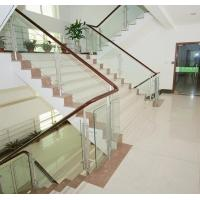 China 8mm Flat Stair Tempered Glass Panels Coloured , Solid Safety Glass Stair Panels on sale