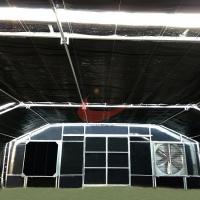 Buy cheap Agricultural Blackout Light Deprivation Greenhouse custom Single Span Greenhouse from wholesalers