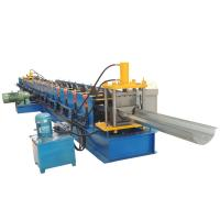 China Automatic Downspout Pipe Roll Forming Machine , Gutter Downspout Machine Weight 6T on sale