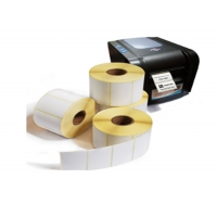 China Adhesive Coated 102x76mm 102x152mm Thermal Shipping Labels on sale