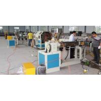 China Fiber Reinforced Plastic Pipe Extrusion Line , Gridding Pvc Pipe Making Machine on sale