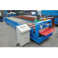 Buy cheap New trapezoidal metal roofing wall panel tile sheet roll making forming machine product