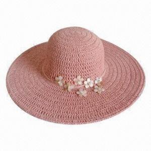 Best Wide Brim Crocheted Hat for Ladies wholesale