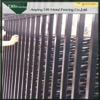 Best Residential / Commercial Steel Picket Fence Wrought Iron Railing Fence Waterproof wholesale